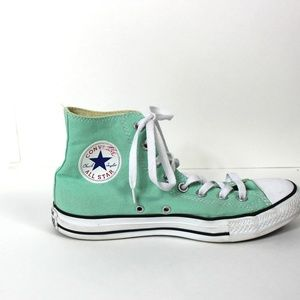Converse High top  shoes {MINT GREEN}
